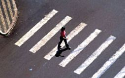 Pedestrian crossing in Brazil
